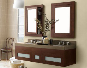 bathroom vanity by Ronbow