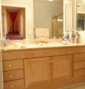 Custom Bathroom Vanity by Fiato & Associates